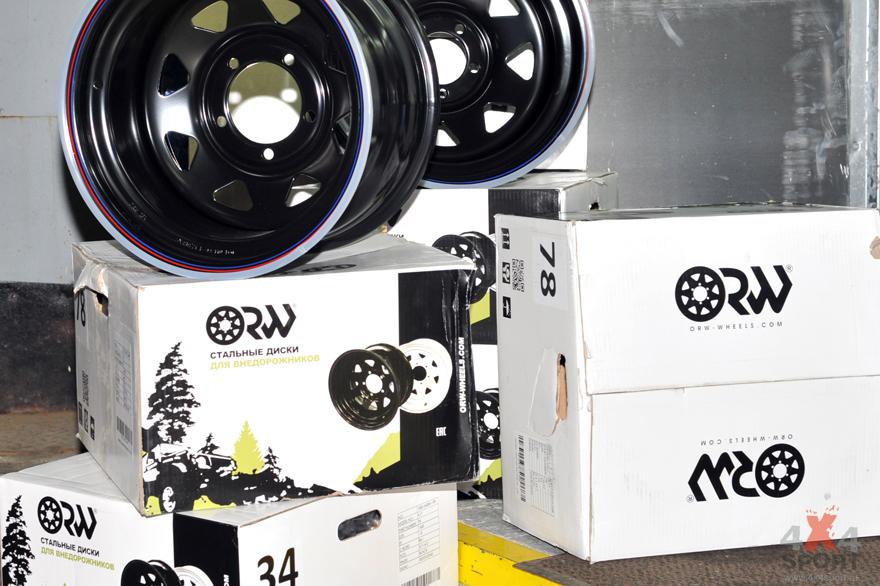 Купить Краш-тест дисков Off Road Wheels ORW