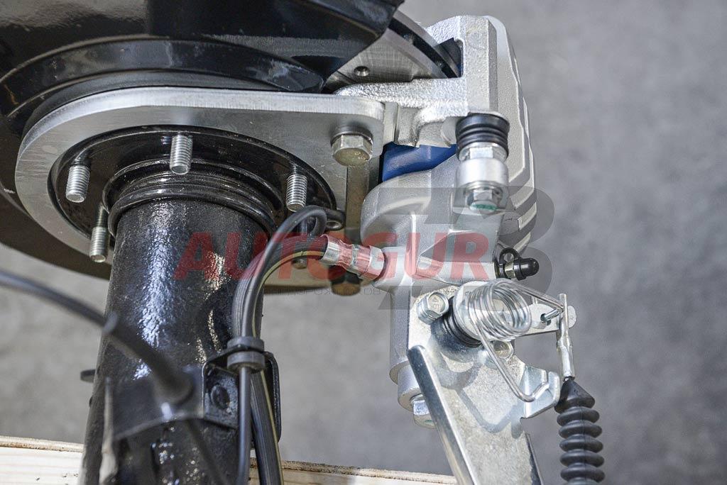 Купить Дисковые тормоза УАЗ 3163 Патриот с 2013 г. (с электронной РК) задний мост
