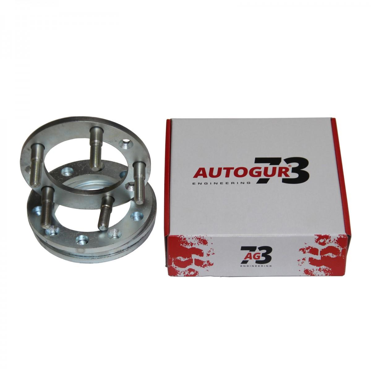 Расширители колеи УАЗ (колесные проставки) 10 мм (сталь) 4 шт