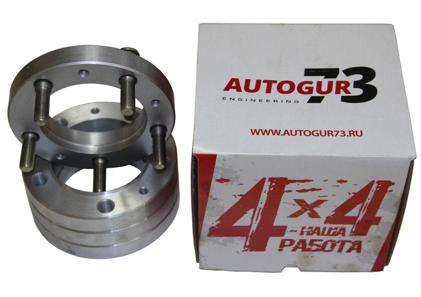 Расширители колеи УАЗ (колесные проставки) 25 мм (алюминий) 4 шт