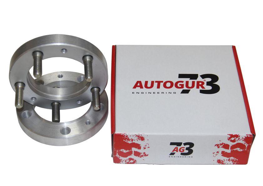 Расширители колеи УАЗ (колесные проставки) 25 мм + шпильки (алюминий) 2 шт к-т