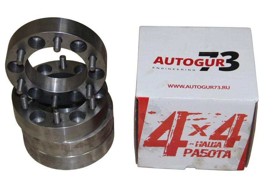 Расширители колеи УАЗ (колесные проставки) 50 мм (сталь) 4 шт