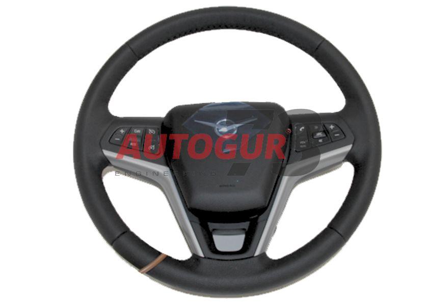 Руль УАЗ 3163 Патриот 2016 мультифункциональный с подушкой безопасности