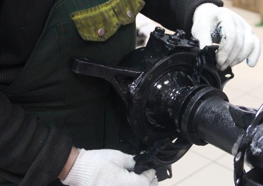 Купить Пыльник поворотного кулака н/о УАЗ с мостами Тимкен, Спайсер, Гибридный  ПОЛИУРЕТАН (2 шт. к-т)