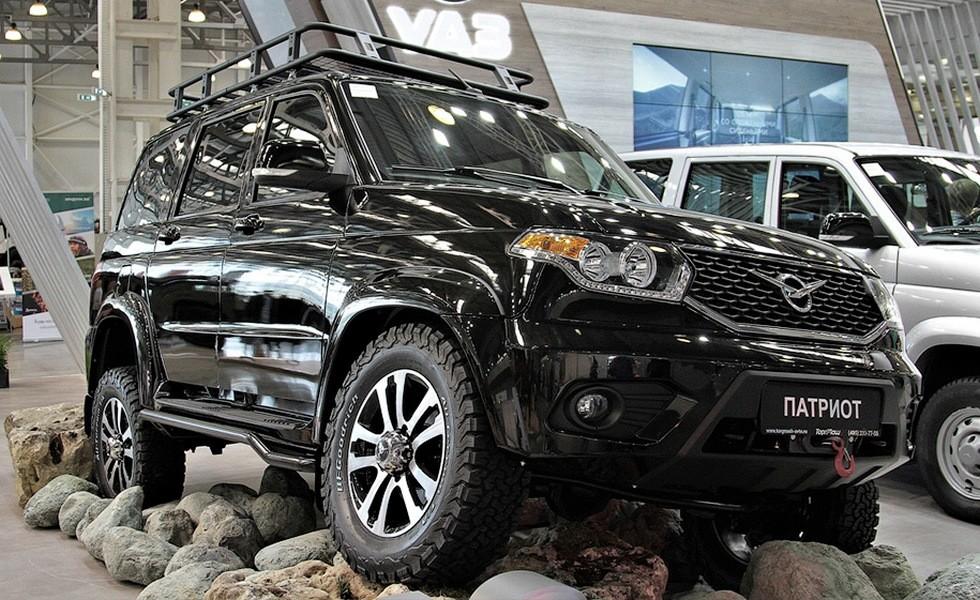 Купить Начались продажи нового УАЗ Патриот с пакетом