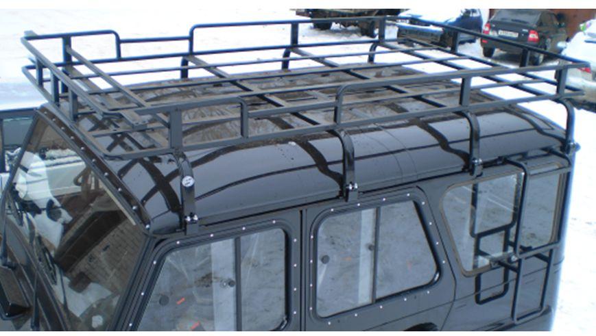 Багажник на крышу на уаз