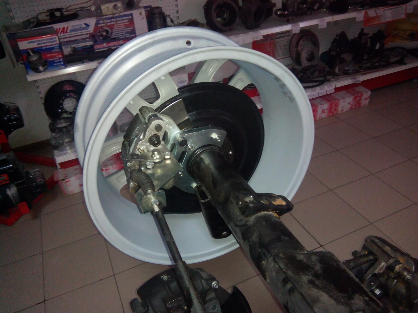 задние дисковые тормоза на ваз 2109 инструкция по установке